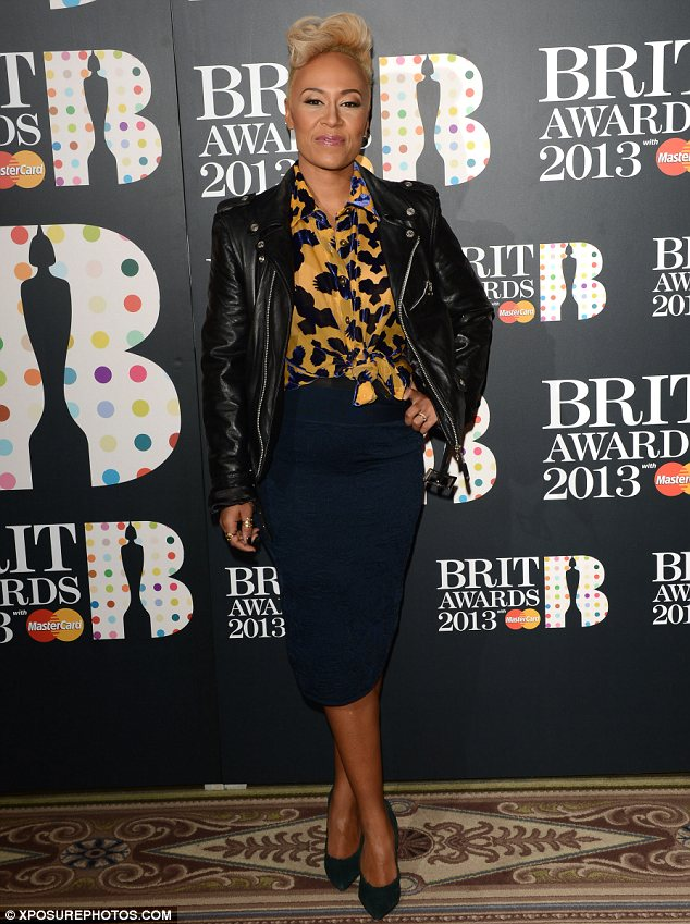 The best of British: Emeli Sandé leads the stars with four Brit Award nominations