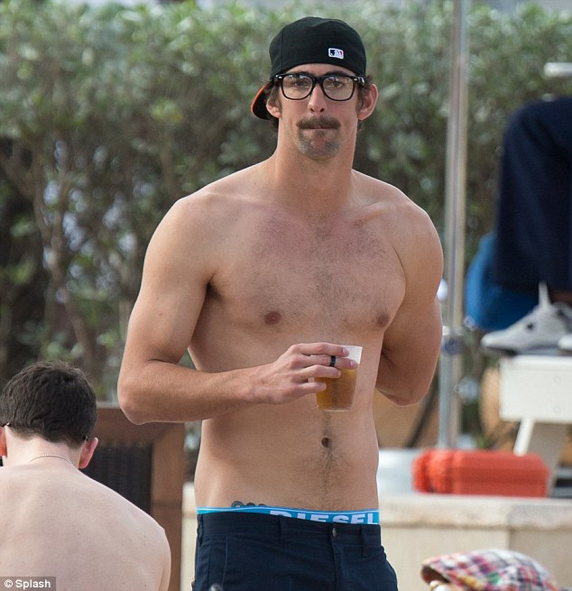 Michael Phelps Continues To Put Ex Behind Him As He Cosies