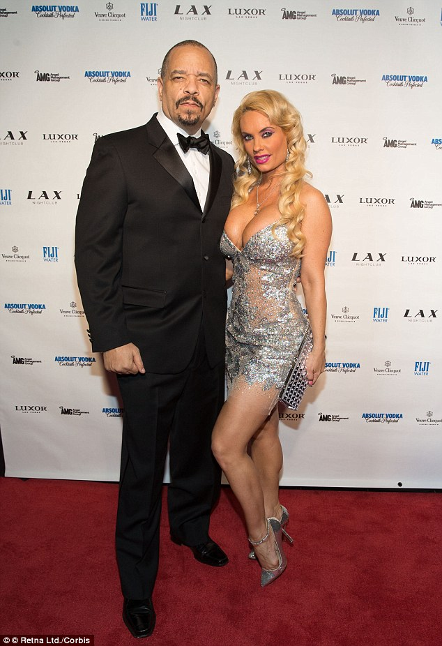 Still going strong: Coco and Ice rang in the New Year at LAX Nightclub at the Luxor in Las Vegas