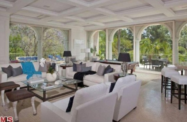 Are you sitting comfortably: He would surely enjoy living in the mansion built by the legendary founder of Columbia Pictures Harry Cohn