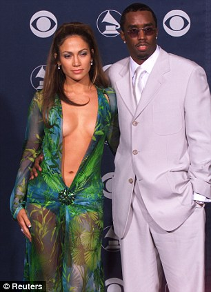 As they were: Jennifer and Diddy dated for two years from 1999