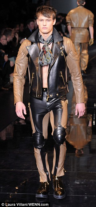 Its MAN Summers Versace Show Sends Male Models Down The