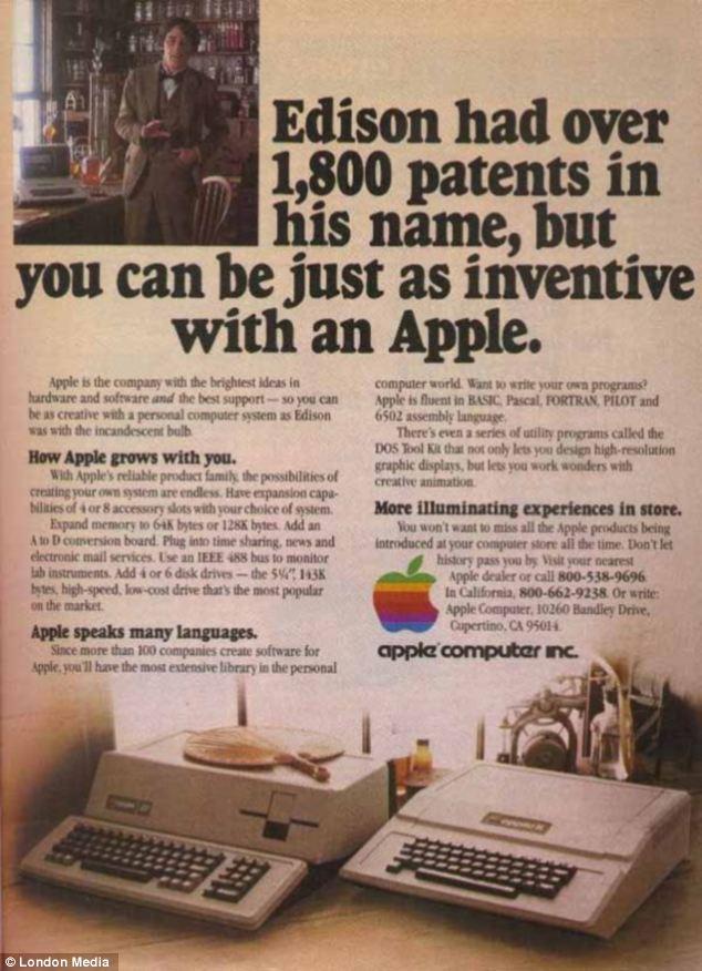 apple vintage ads reveal