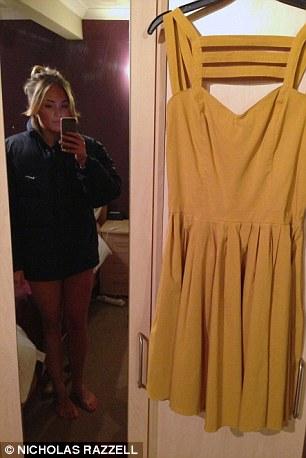 Vendedor de eBay misterioso de Oxford que publicó una foto de ella misma desnuda mientras se intentaba vender un vestido amarillo ASOS