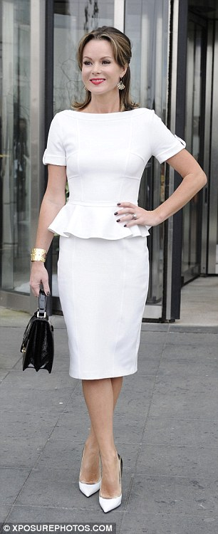 Similar styles: Mother-of-two Amanda and former Misteeq singer Alesha both suit the vintage look