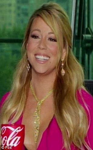 Not all bad: Mariah and Nicki did enjoy some fun moments and Nicki admitted she thinks they actually 'gel well'