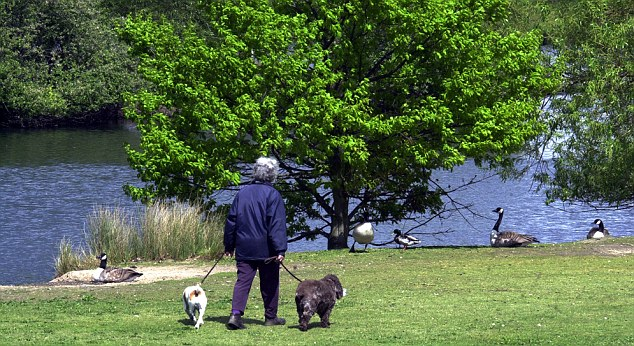 Caution: Dog owners have been warned by police to be diligent when out with their pets