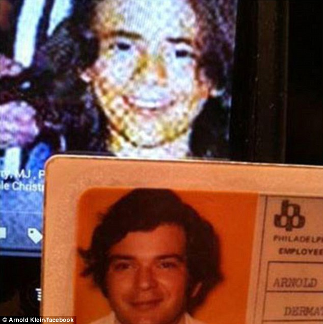 Hint hint? Michael Jackson's doctor, Arnold Klein, posted a comparison picture of himself and Jackson's son Prince Michael in a cryptic Facebook post