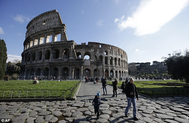 The findings were part of a long-delayed restoration of Rome's Colosseum