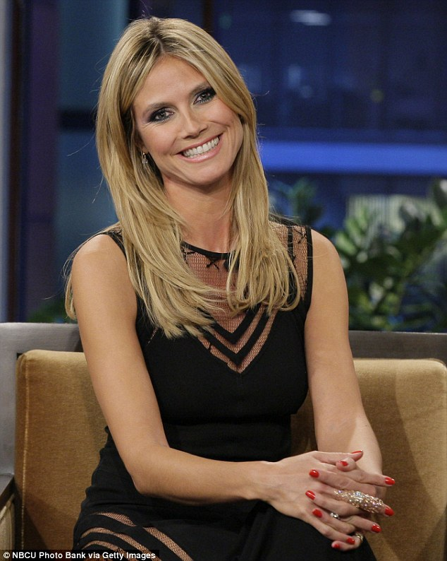 11 years strong! Klum was on the show to promote the eleventh season of Project Runway, which premieres January 25