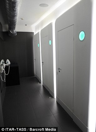 Definitely not a room with a view First capsule hotel with fifty windowless pods opens in