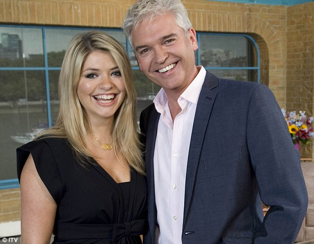 Shocked: Hosts Phillip Schofield and Holly Willoughby appeared shocked by the couples' comments
