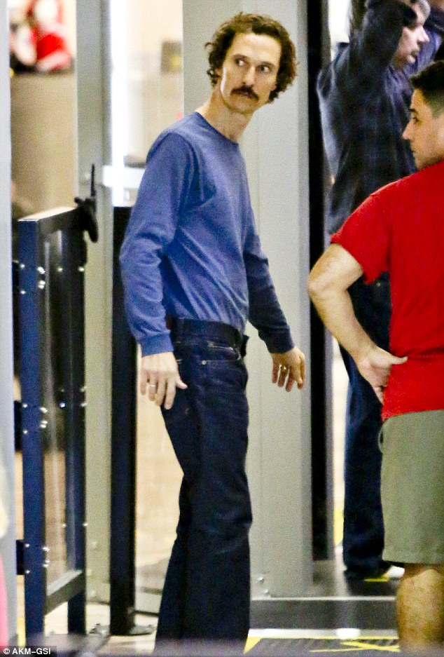 Matthew McConaughey Looks Healthier After Weight Gain As He Enjoys Down Time In Austin Texas