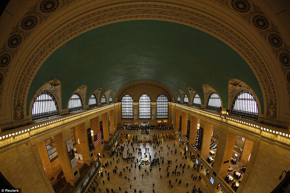 Grand Central Terminal plays host hundreds of thousands of visitors each day