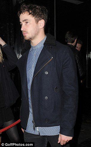 Old acquaintances: Kelly and Danny Cipriani were pictured leaving the Rose club last week after partying together