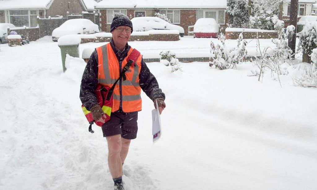 Postmen Banned From Wearing Shorts By Health And Safety