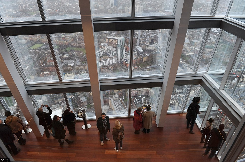 The Shard Would you pay 90 for your family to enjoy this
