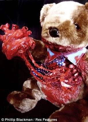 Undead Teds Phillip Blackmans Gory Zombie Teddy Bears