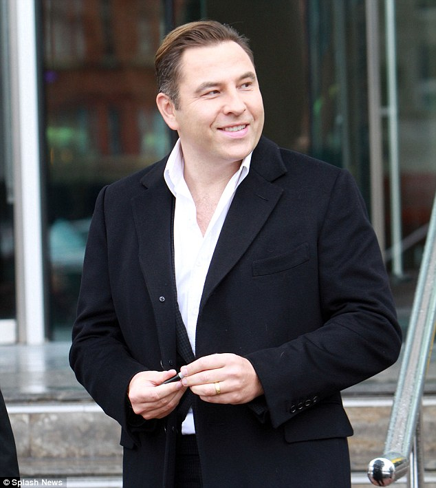 Britain's got judges: David Walliams is returning to the panel this year