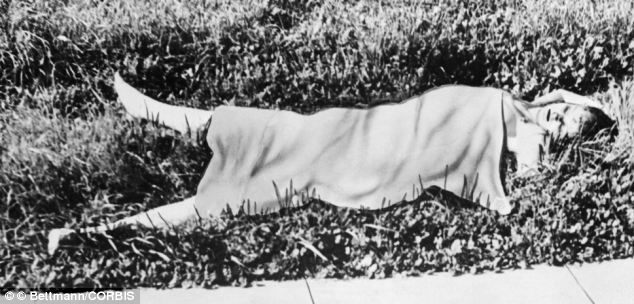 Elizabeth Short's mutilated body was found in a vacant lot near a busy intersection on the southwest section of L.A. in 1947