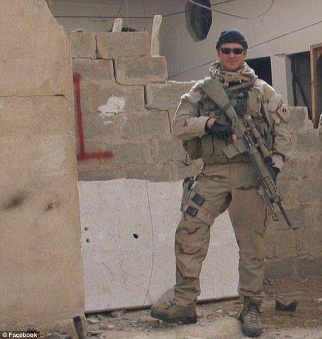 Kyle, 39, served four tours in Irag and he was awarded two Silver Stars, five Bronze Stars with Valor, two Navy and Marine Corps Achievement Medals, and one Navy and Marine Corps Commendation