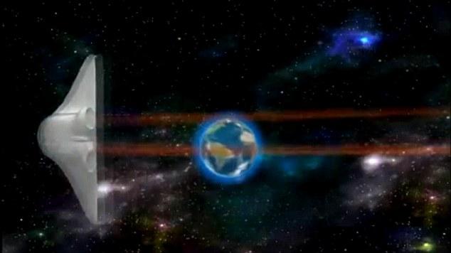 Entrante: La lanzadera circula por el mundo al ritmo de 'We Are the World'