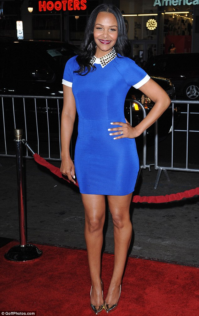 Blast from the past: Samantha Mumba showed that she hasn't aged one bit as she attended the US premiere of Safe haven in Hollywood on Tuesday