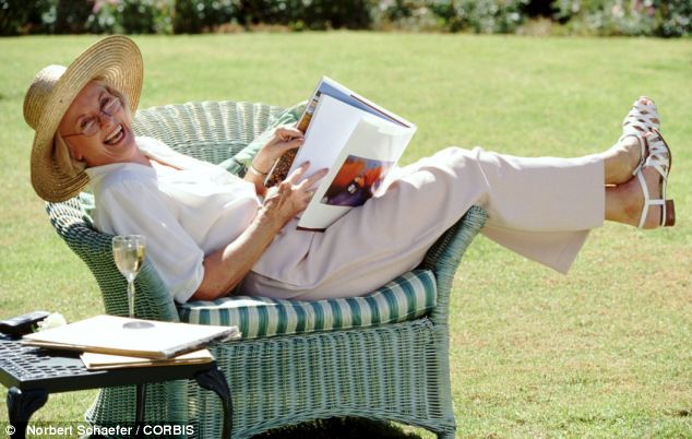 Bad news for the book Older people find ebooks easier to