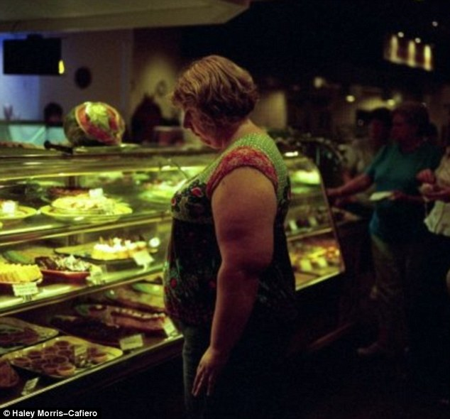 Caloric evils: Ms Morris-Cafiero's biggest temptation is donuts