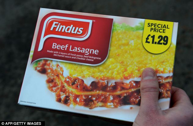 Six supermarket chains in France withdrew ready-meals from Findus and Comigel following Findus's decision to take its frozen beef lasagne, made by Comigel, off the British shelves