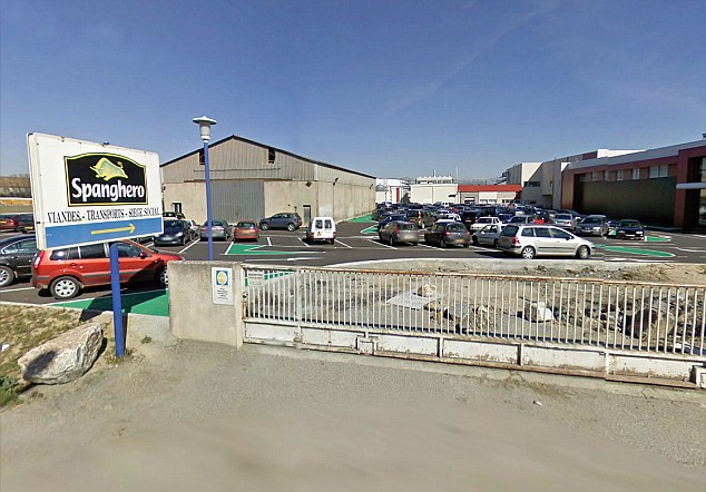Under investigation: The Spanghero depot in Castelnaudary, in south western France. The firm supplied meat for French frozen food giant Comigel