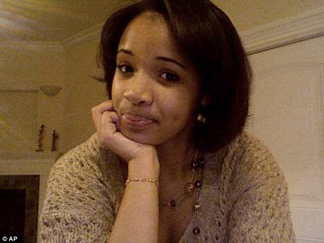 Recent tragedy: 15-year-old Hadiya Pendleton was shot dead just a mile from Mr Obama's Chicago home and only a week after she performed at his second inauguration
