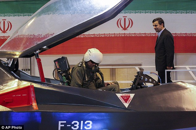 Ceremony: President Mahmoud Ahmadinejad was present at the unveiling of the Qahar-313 in Tehran earlier this month