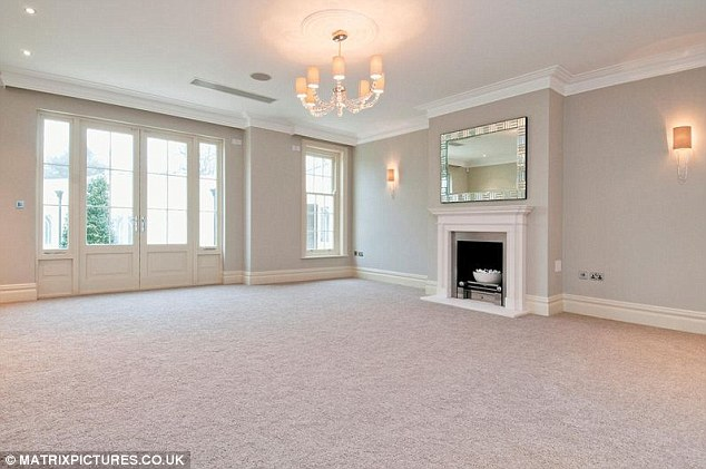 Spacious: There's plenty of room in the sitting room