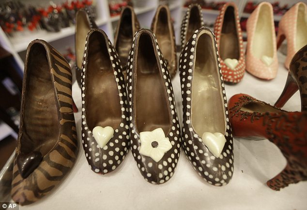 Chocolate shoes