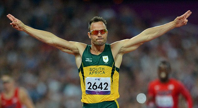 Star attraction: Pistorius competed at both the London 2012 Olympic and Paralympic Games
