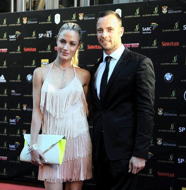 Tragedy: The woman found dead is believed to be Reeva Steenkamp (left)