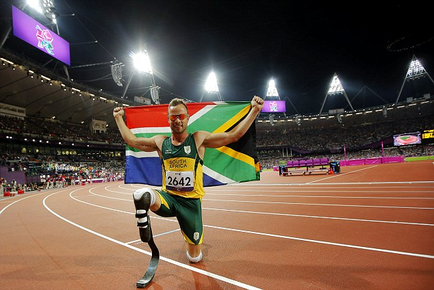 Star: The athlete is the most famous paralympian ever and the only disabled person to compete in the Olympics as well
