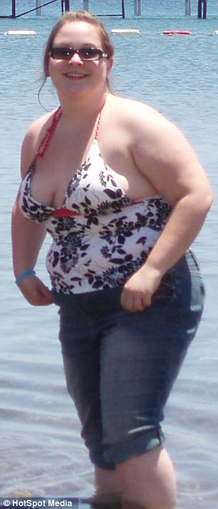 16stone woman Jodie Driver sheds half her body weight