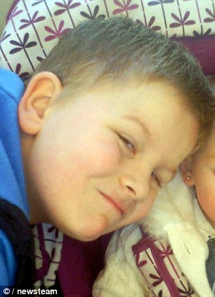'Gone but not forgotten': Friends and family last night paid tribute to the young schoolboy