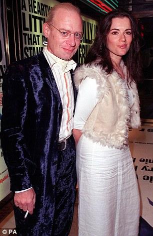 Nigella with her late husband John Diamond: Like John, she says her husband Charles Saatchi also enjoys smoking