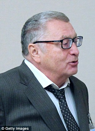 Rant: Vladimir Zhirinovsky said what really happened was an act of provocation by the U.S.