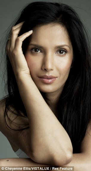 Recovering: Padma Lakshmi was diagnosed with endometrosis aged 36