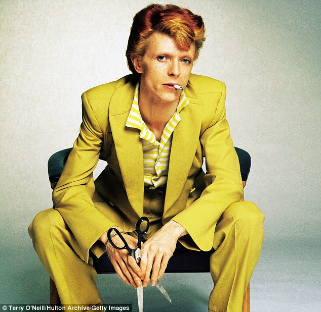 'David Bowie was and is a very interesting guy; the coolest guy in the room,' said Terry O'Neill