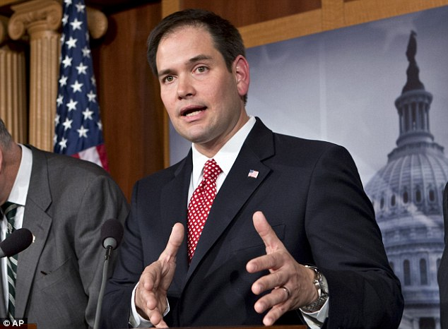 Opponent: Republican Senator Marco Rubio, of Florida, has said that he is opposed to the bill