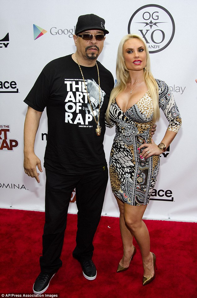 Flashy couple: After 11 years of marriage, Ice-T must know that Coco is a show-stopper