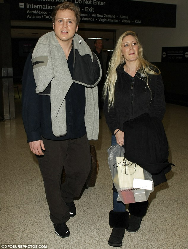 Proud to be an American: Former The Hills stars Heidi Montag and Spencer Pratt admit they are happy to live in the US as gun laws are more relaxed meaning they can keep weapons in their home