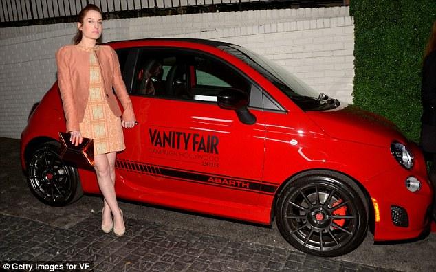 Minka Kelly And Olivia Munn Rev Up Engines At Vanity Fair