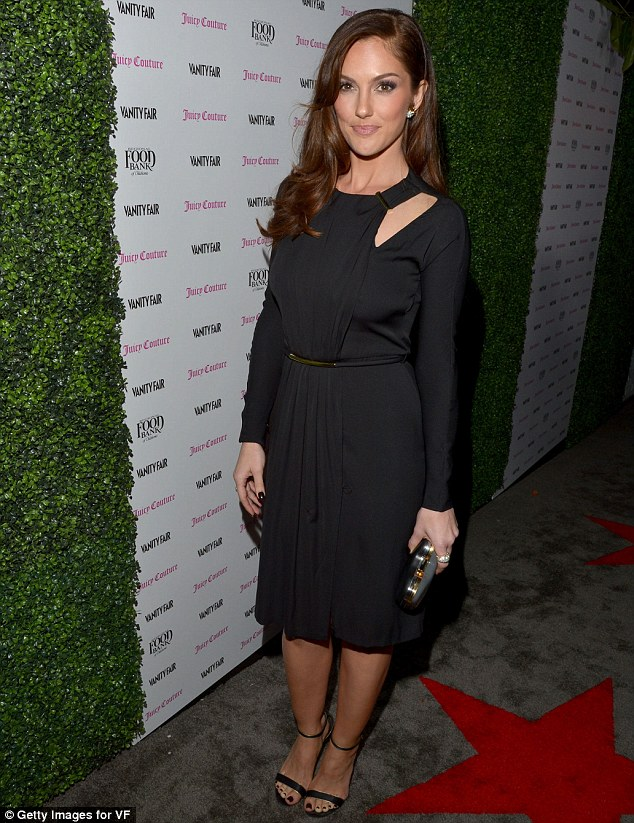 Demure: Minka meanwhile went for a classic LBD
