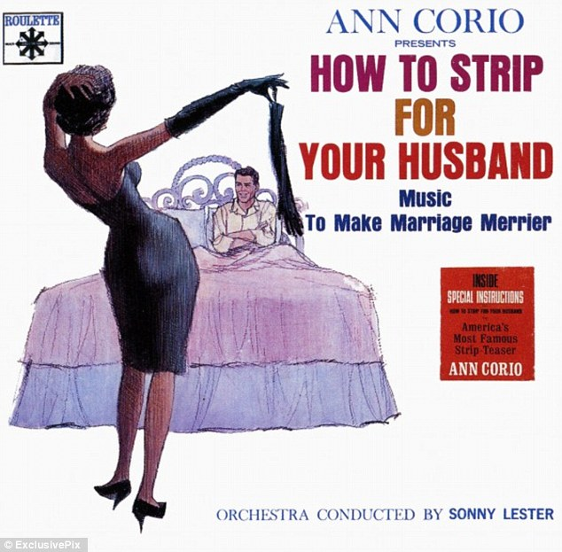 Music to make marriage merrier: The album covers certainly play to the 1950s housewife stereotype